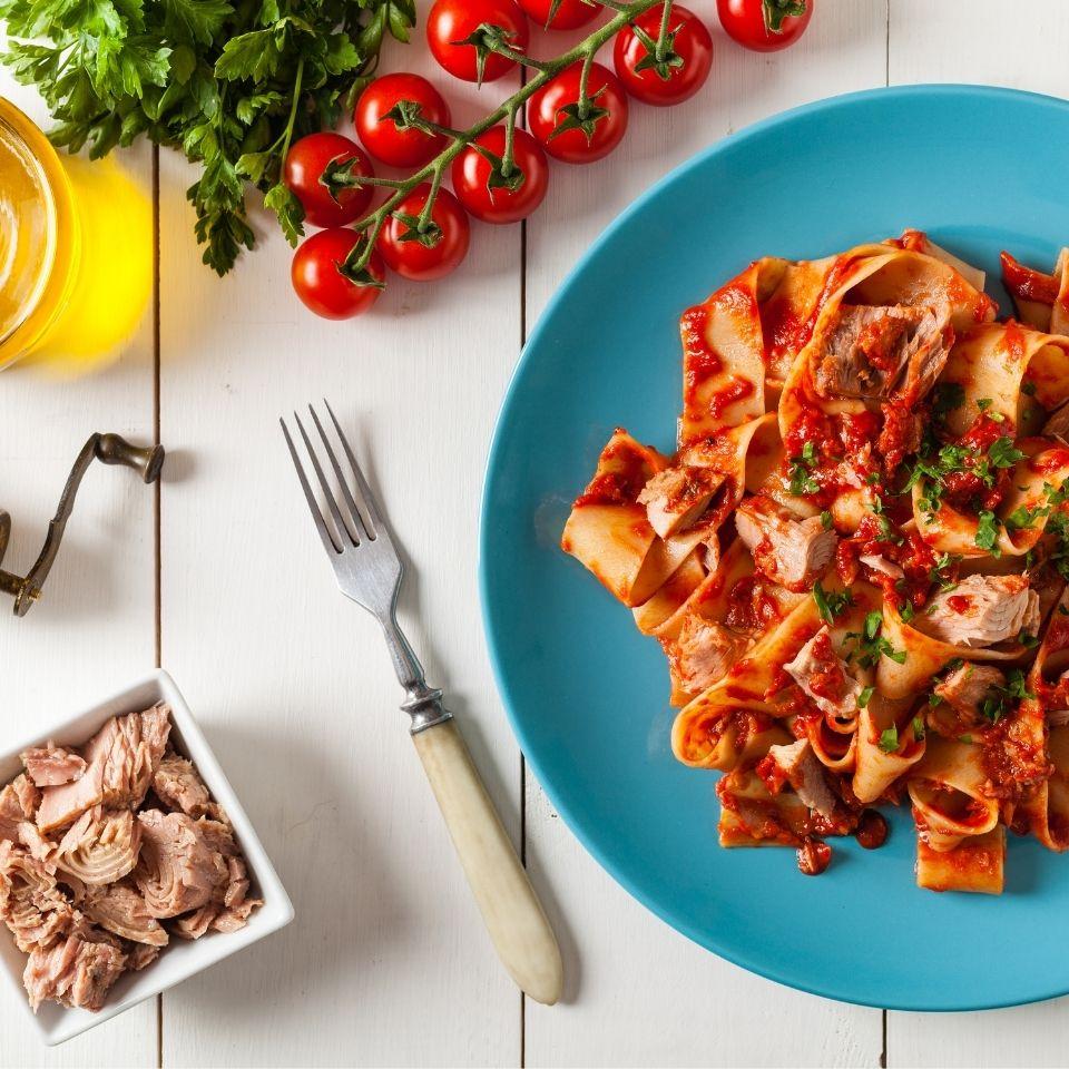 pasta tuna sauce socook